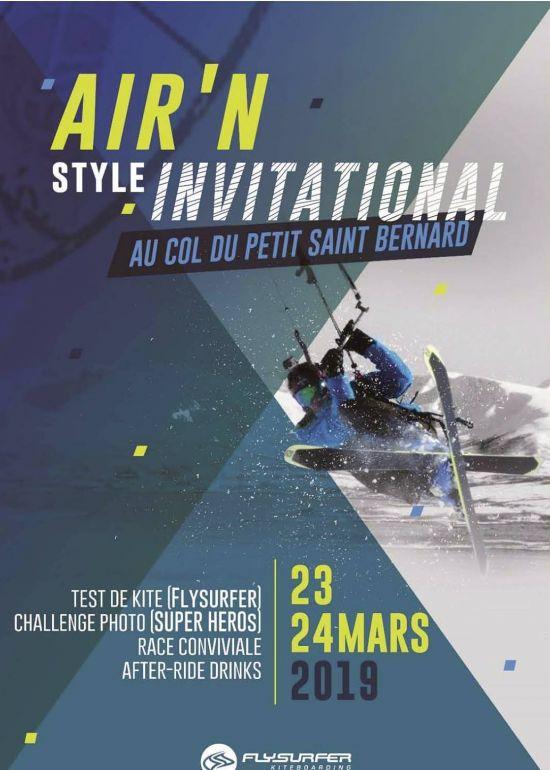 Air & Style Invitational 2019 :: 23-24 mars 2019 :: Agenda :: LetsKite.ch