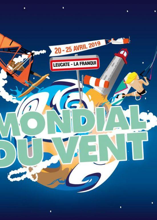 Mondial du Vent - Leucate :: 20-25 avril 2019 :: Agenda :: LetsKite.ch