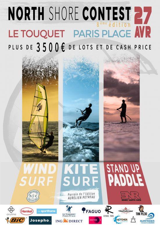 Le North Shore Contest - Touquet-Paris-Plage :: 27 avril 2019 :: Agenda :: LetsKite.ch