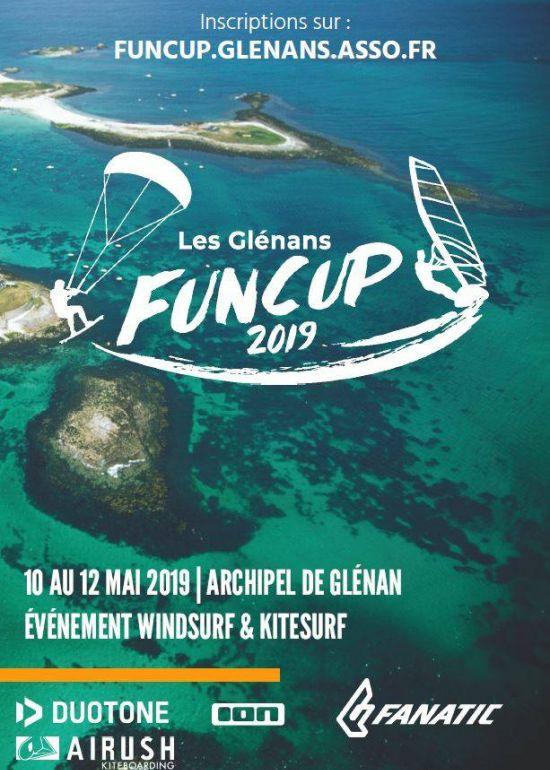 Glénans Funcup 2019 :: 10-12 mai 2019 :: Agenda :: LetsKite.ch